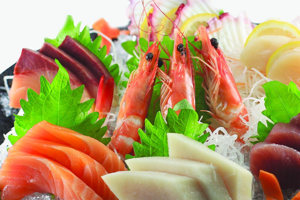 SASHIMI & SUSHI MORIAWASE 刺身/寿司盛り合わせ