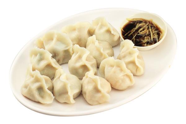 DP 11 韭菜鲜肉饺子 Steamed Chives&Pork Dumpling 豚肉とニラの蒸し餃子