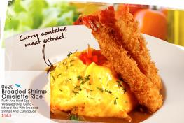 JAPANESE CURRY OMELETTE RICE