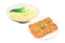 ND 05 酥脆腐皮虾饼拉面 Noodle With Crispy Prawn Pancakeサクサク海老パンケーキとラーメン