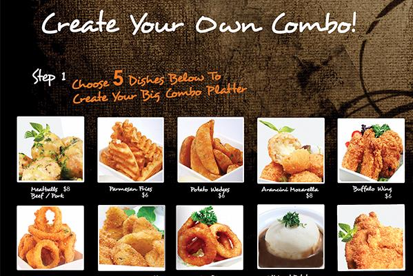 CREATE YOUR OWN COMBO!