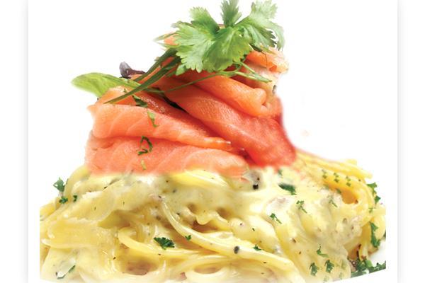 0520 Smoked Salmon Pasta