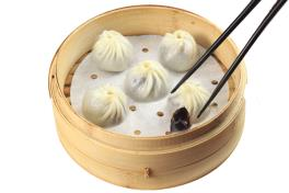 DP 05 豆沙小笼包 Red Bean Chocolate Dumpling 小豆チョコレート餃子