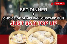 DINNER SET top up ($5.8)
