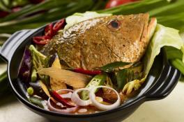 Assam Fish Head 亚参鱼头