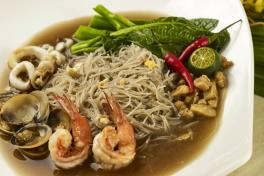 Seafood White Mee Hoon 海鲜白米粉