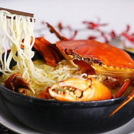 Claypot Crab Bee Hoon Soup - 砂煲螃蟹米粉汤