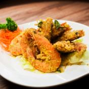 Salted Egg Prawn 咸蛋虾