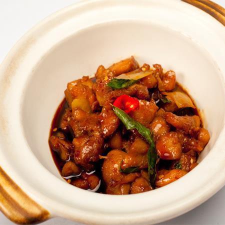 Three Spices Chicken - 三杯鸡