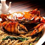 Black Pepper Crab Bee Hoon - 黑胡椒螃蟹米粉