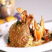 Shimmering Sand Crab Delight - 金沙螃蟹