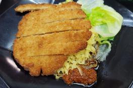 Chicken Cutlet Dry Noodle 素鸡扒干捞面