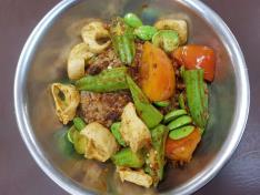 Sambal Petai Cuttlefish with Rice 三芭臭豆犹豫饭