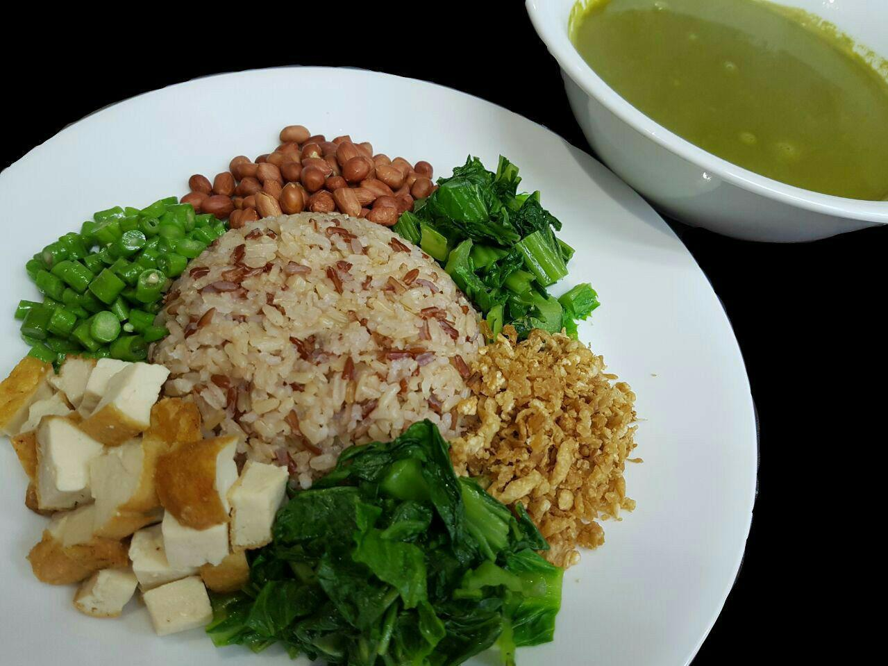 Hakka Thunder Tea Rice 客家擂茶饭