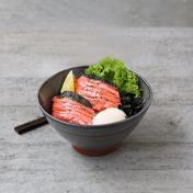 Salmon Mentaiko Rice Bowl