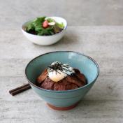 Teriyaki Beef Steak Rice Bowl Set