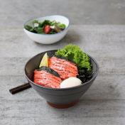 Salmon Mentaiko Rice Bowl Set