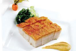Roasted Pork 脆皮烧肉