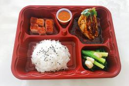Set menu for 4 (套餐4人份)