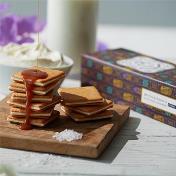 Salted Caramel & Mascarpone Cookies - 10 pieces