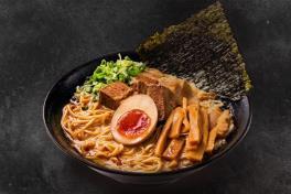 Black Garlic Tonkotsu Ramen