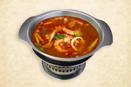 Tom Yam Seafood Soup - 冻任海鲜