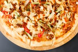 New! Spicy Sze Chuan Duck Pizza ( U.P $19 )