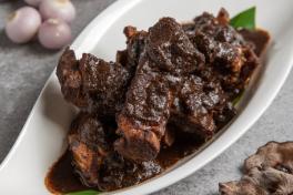 Buah Keluak Braised Pork Ribs