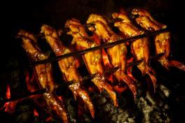 BBQ Chicken Wings 蚝皇碳烤鸡翅