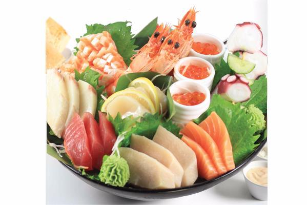 JAPANESE - 刺身/寿司盛り合わせ SASHIMI & SUSHI MORIAWASE