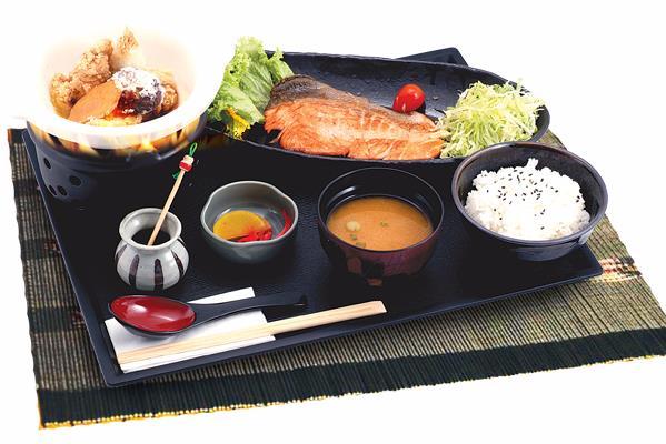 JAPANESE - 海鮮定食 SET MEAL SEAFOOD