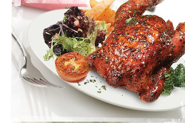 0928B LENAS Roasted Chicken (w/ 2 Side Dishes)