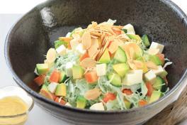 208 Tofu Avocado Salad 腐アボカドサラダ