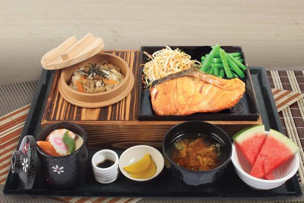 JAPANESE - 特別定食 SPECIAL SET MEAL