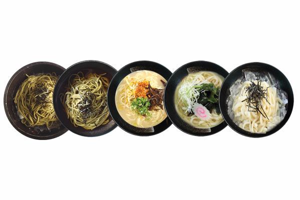 JAPANESE - 麺類セット NOODLE COMBO