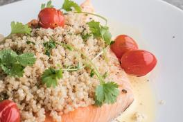 Rock Salted Slow Baked Whole Salmon Fillet (2kg) (Pre-order 24hours in advance)