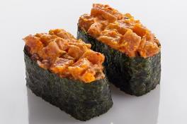 Spicy Akami Maguro Gunkan