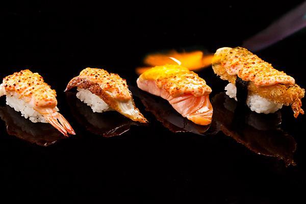 Aburi & Tobimayo Sushi