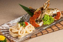 Spicy Zarigani Udon(Spicy)