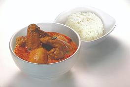 A5 Curry Chicken  咖喱鸡饭/面  (Rice/Noodle)