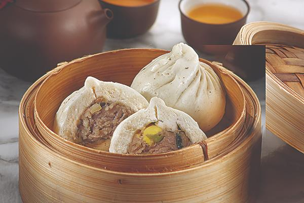 154鸡猪精包 Chicken & Pork Bao/2pcs