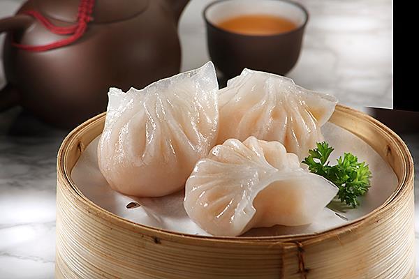 201水晶鲜虾饺 Fresh Shrimp Dumpling/3pcs