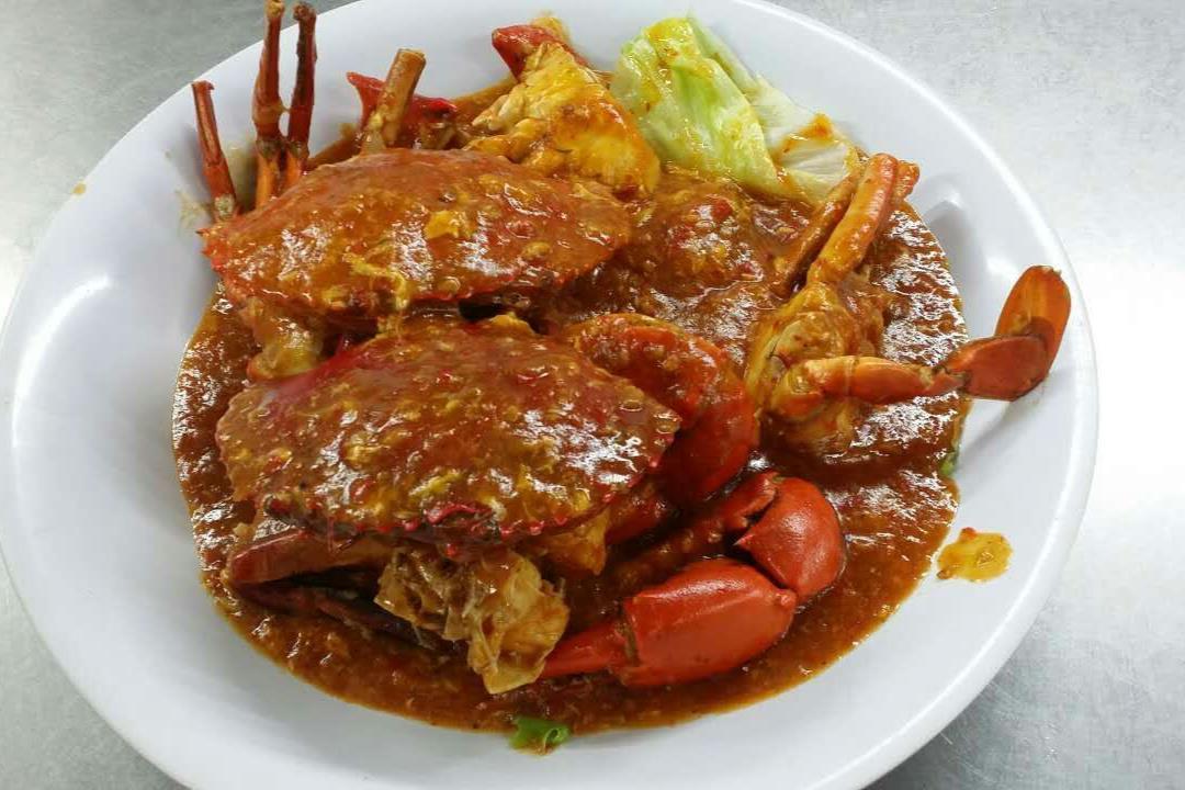 辣椒螃蟹 Chili Crab
