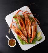 **QUALITY Thai Huge Grill River Prawn ( 6- 8 portions Total: 800g-900g)