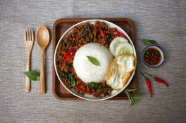 8 Pax Basil Minced Chicken Rice (UP 30% off)