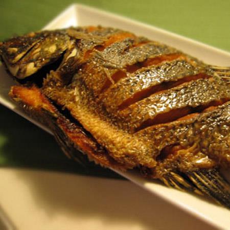 Piniritong Tilapia (Fried Tilapia)
