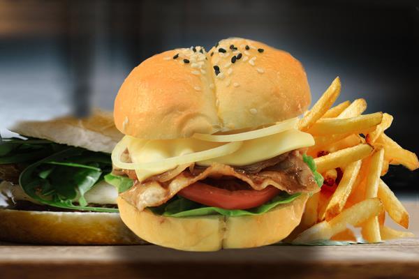 JAPANESE BURGER  ハンバーガー