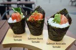 Salmon Avocado Temaki