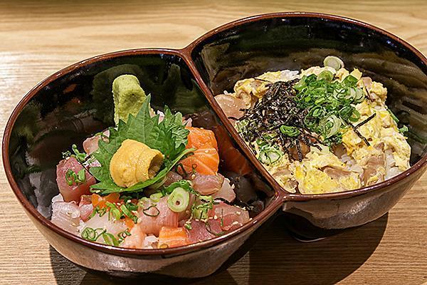 Futago Don (Special Rice/ Noodle bowl)
