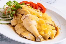半 - 甘榜白斩鸡 Half - Poached Kampong Chicken